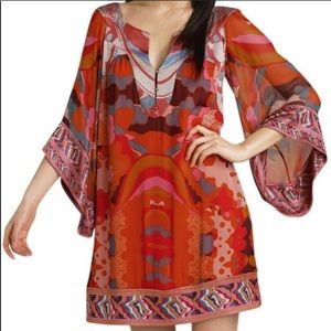 DVF Tabalah silk caftan dress